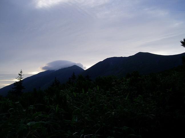 美瑛富士避難小屋への登路