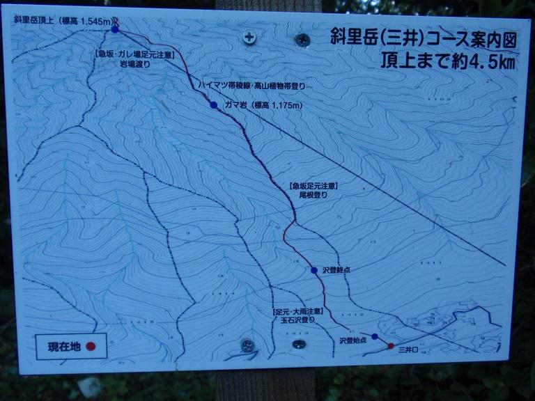 斜里岳三井登山口
