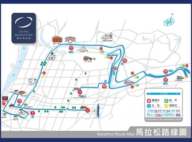 2021台北マラソンコース