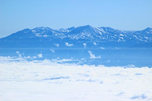 芦別岳から旭岳