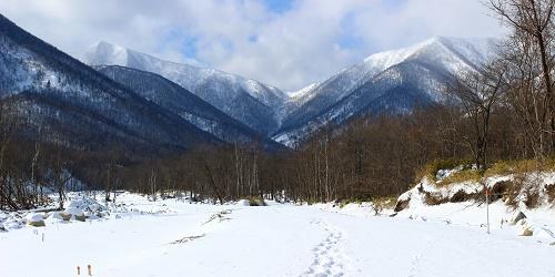 芽室岳登山 氷点下23度、スノーシューで敗退(2月上旬)