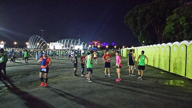 シンガポールマラソントイレ