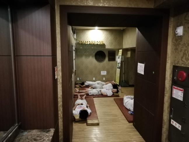 ドラゴンヒルスパ仮眠室
