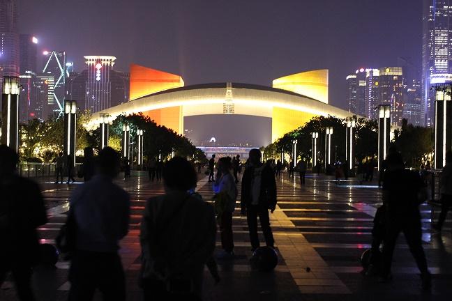 深圳市民中心イルミネーション