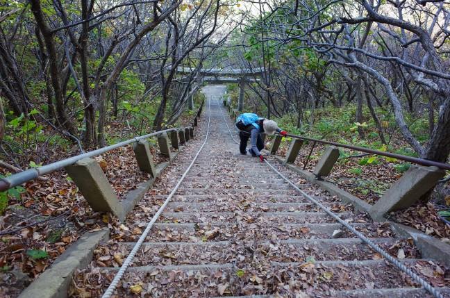 太田山神社の石段