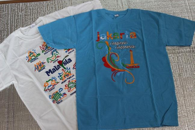 ジャカルタTシャツ