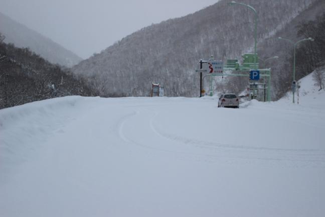 野塚トンネル駐車場