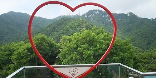 八公山(パルゴンサン)の山歩き 韓国大邱の里山を縦走(7月上旬)