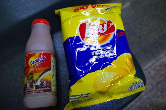 タイのポテトチップス