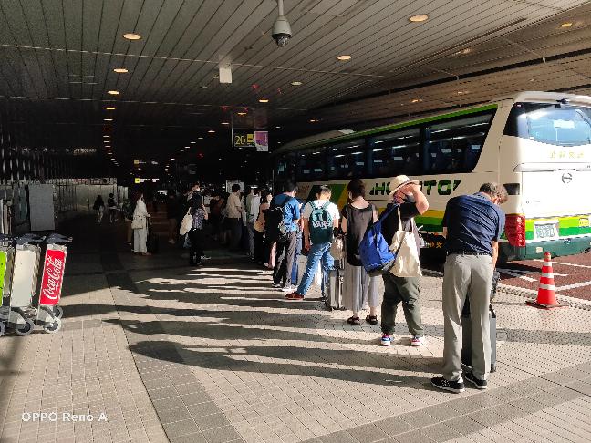 新千歳空港バスのりば