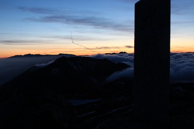 十勝岳山頂から見たトムラウシ山