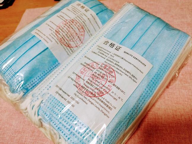 中国製マスク