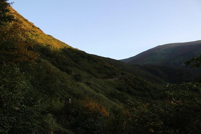 月山姥沢登山道