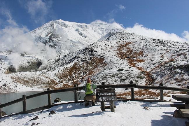 大雪山系旭岳姿見の池