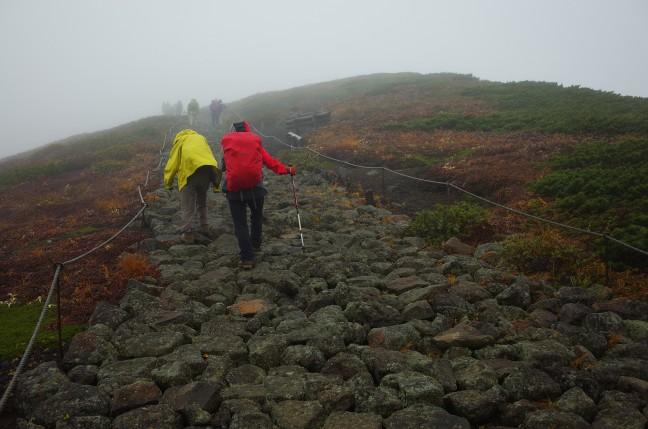 秋田駒ヶ岳男女岳への登り