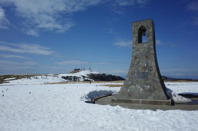 美ヶ原 雪山ハイク|山本小屋から往復2時間のショートトリップ(3月中旬)