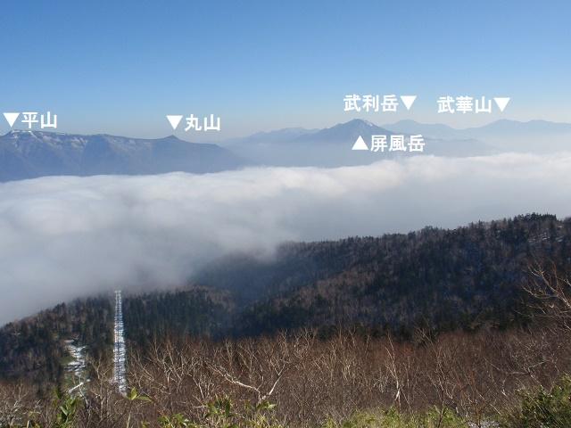 層雲峡黒岳登山道