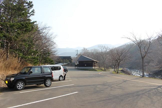 アポイ岳 駐車場