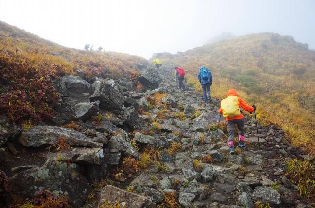 秋田駒ヶ岳男岳への登り