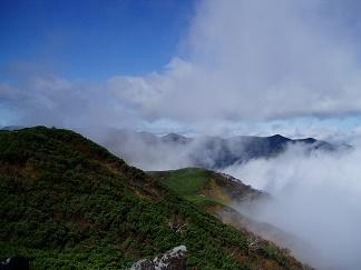 芽室岳山頂