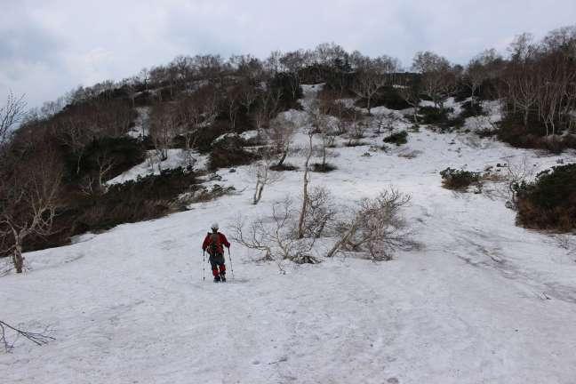 新冠富士からの下山
