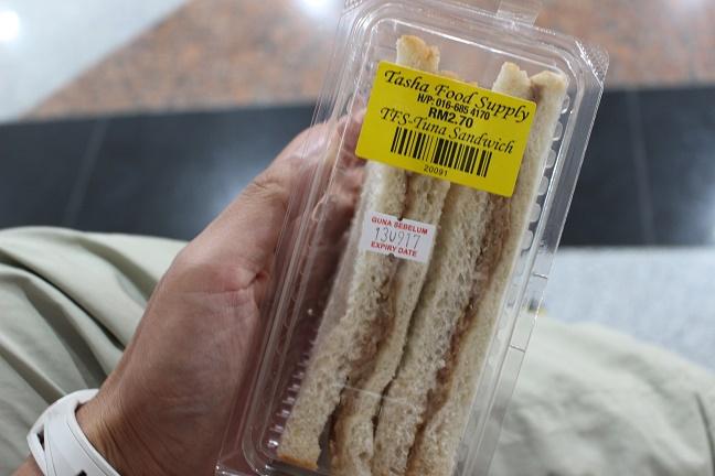 クアラルンプールサンドイッチ