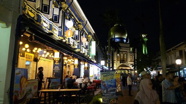 シンガポール アラブストリート