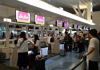 シンガポール旅行記|ミッフィちゃんと羽田からエアアジアでクアラルンプールへ