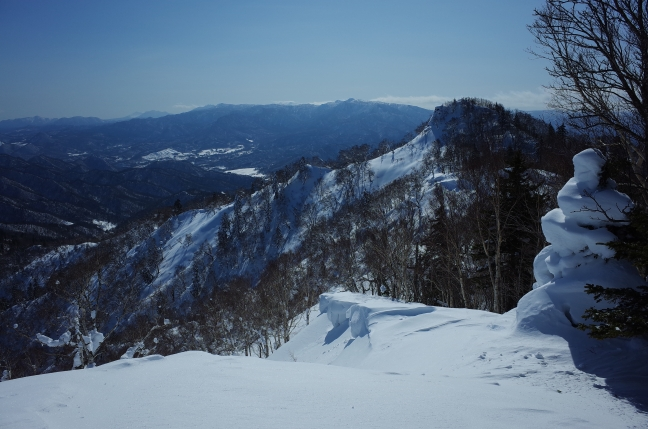 百松沢山南峰