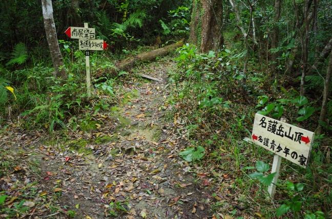 名護岳登山道