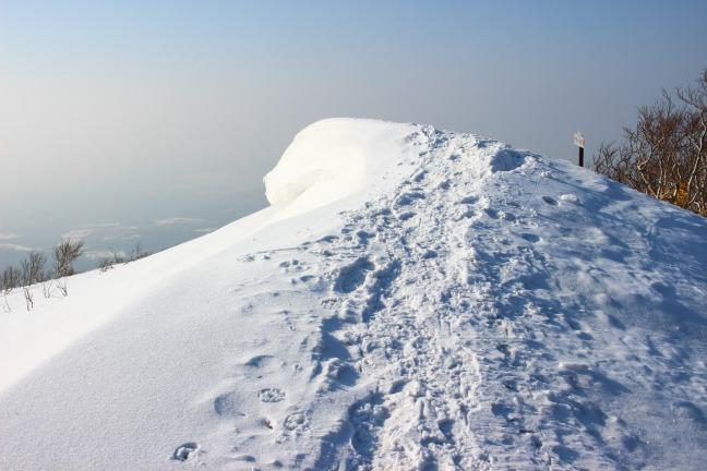 室蘭岳825ピーク