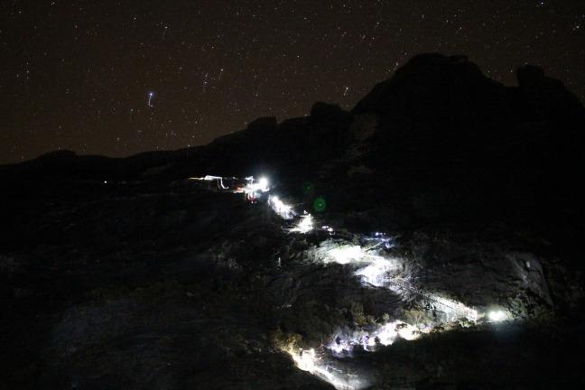 キナバル登山第2日目