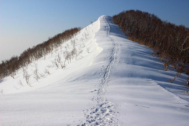 室蘭岳825mピーク