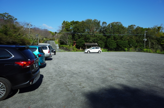 登山者専用駐車場
