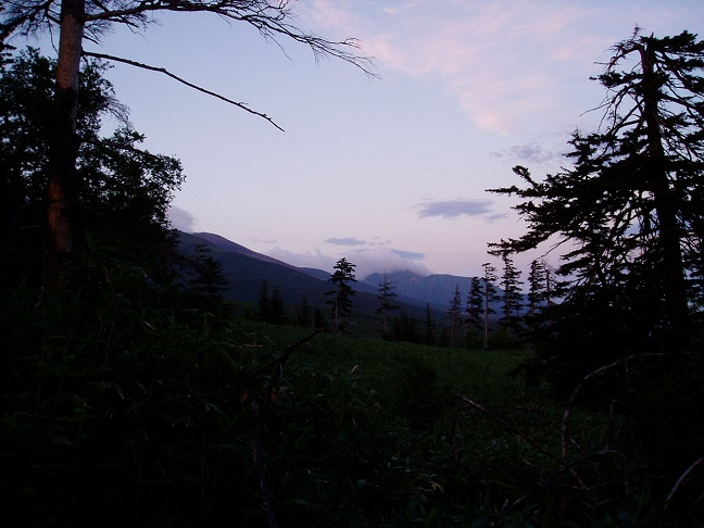 オプタテシケ山登山道