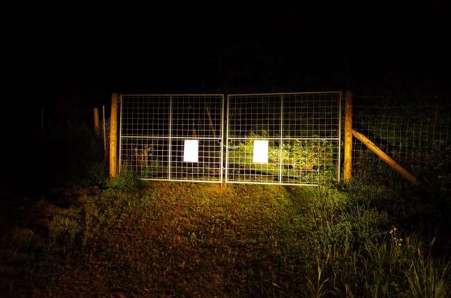 シカ進入防止用ゲート