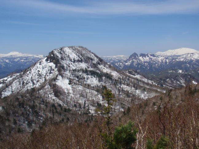 2015年5月の百松沢山南峰