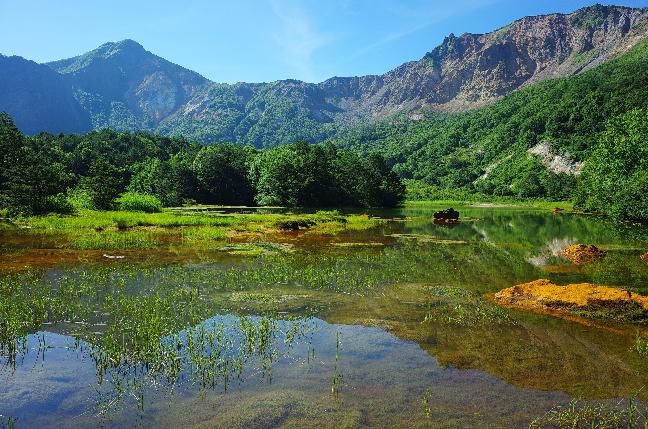 磐梯山銅沼