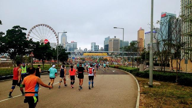 香港マラソン2019中環
