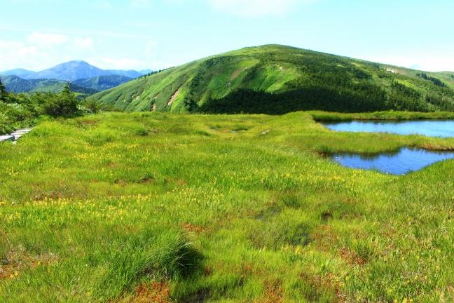 平ヶ岳登山|夜明け前の鷹の巣登山口駐車場から日本百名山の頂へ(8月上旬)