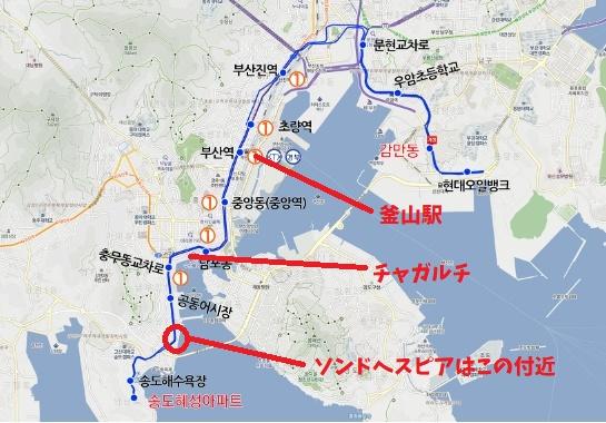 26系統路線図