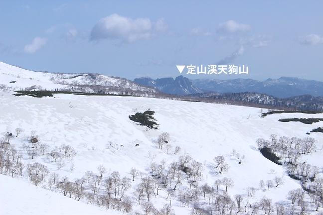 定山渓天狗山