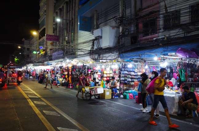 バンコク午前3時の中華街