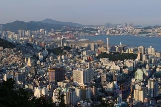 日中の釜山