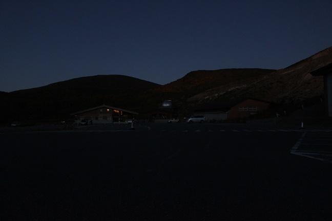 浄土平夜明け