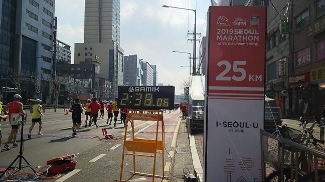 ソウルマラソン2019