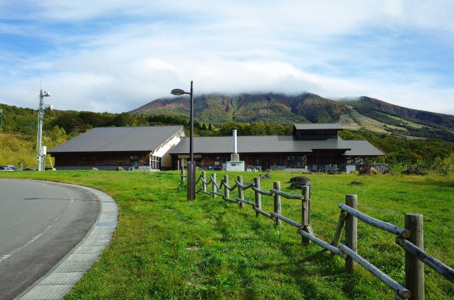 雲の中の秋田駒ヶ岳