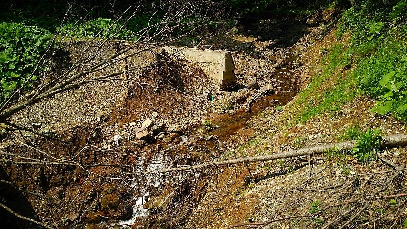 ウペペサンケ山林道被災状況