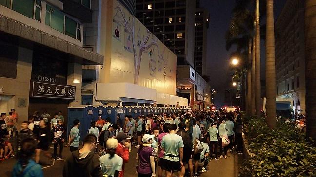 尖沙咀香港マラソントイレ