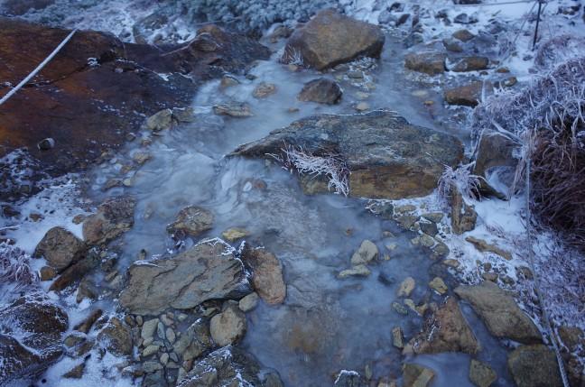 早池峰山の登山道